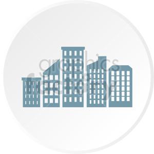 city skyscraper icon clipart. Commercial use image # 415641