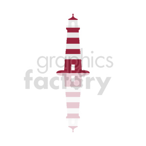 lighthouse vector icon clipart. Commercial use image # 415664