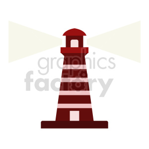 lighthouse vector clipart shining light clipart. Commercial use image # 415690