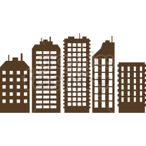 city buildings clipart clipart. Commercial use image # 415699