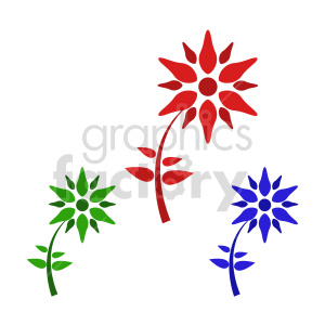 flower bundle vector design 9 clipart. Commercial use image # 415752
