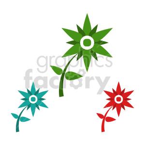 flower bundle vector design 8 clipart. Commercial use image # 415756