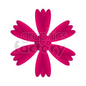 clipart - flowers vector clipart 3.