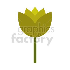 clipart - flower vector clipart 3.