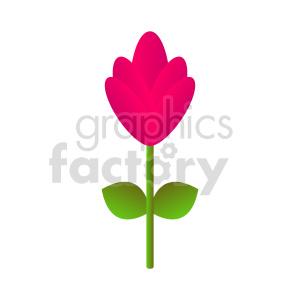 clipart - flowers vector clipart 10.