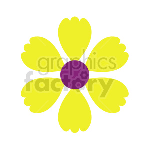 flower clipart 2 clipart. Commercial use image # 415805