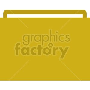 folder vector flat icon clipart clipart. Commercial use image # 415904
