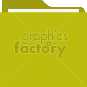folder vector icon clipart. Commercial use image # 415915