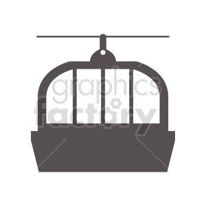 ski lift vector clipart design clipart. Commercial use image # 416010