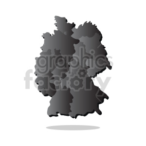 germany gradient vector clipart design clipart. Commercial use image # 416070
