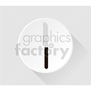 steak knife vector clipart