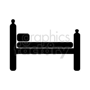 bedframe vector design clipart. Commercial use image # 416288