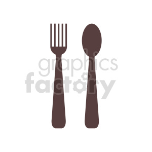 fork spoon vector clipart clipart. Commercial use image # 416293