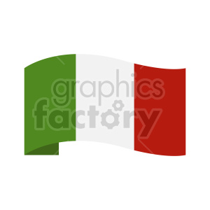 italy flag clipart design clipart. Commercial use image # 416299