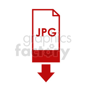 download jpg icon clipart. Commercial use image # 416366