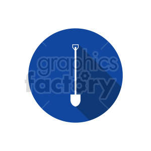 shovel vector graphic clipart. Commercial use image # 416417