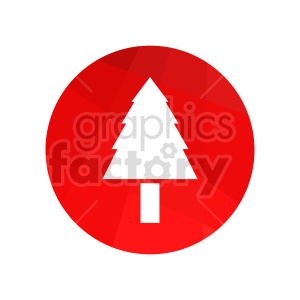christmas tree vector graphic clipart. Commercial use image # 416547