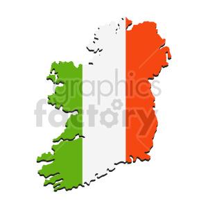 clipart - ireland flag vector clipart.