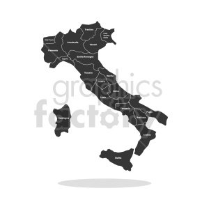 clipart - italy country vector graphic.