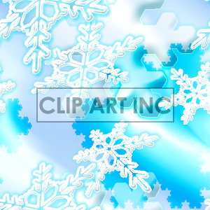 092205-snowflakes background. Royalty-free background # 128140