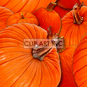 tiled pumpkin background background. Royalty-free background # 128170