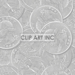 background backgrounds tiled bg money coins coin quarter quarters 25 change   102705-quarters-light Backgrounds Tiled
