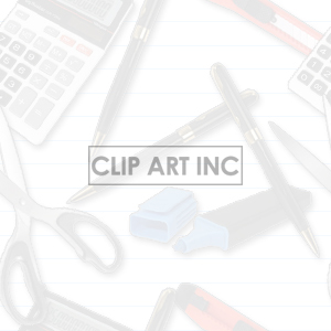 103005-office-supplies-light clipart. Royalty-free image # 128210