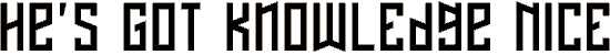 naftalene font. Royalty-free font # 174640