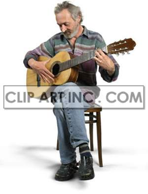 artist male guitarist guitar acoustic playing sitting singing song singer performance performer musician concert  Photos People