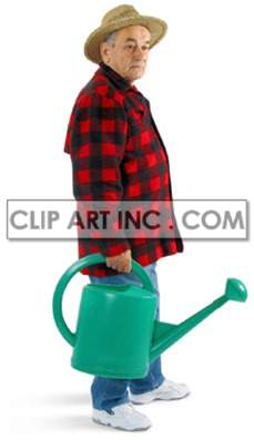 gardening water jug jugs   3D2028lowres Photos People