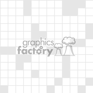 011606 crossword light vector clip art image