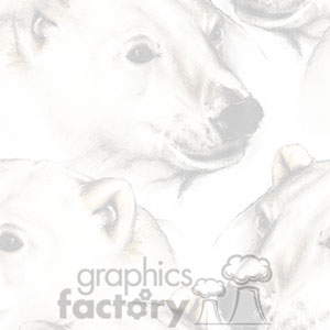 120406-polarbears-light clipart. Royalty-free image # 372621