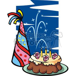 new years eve party clipart. Commercial use image # 145233
