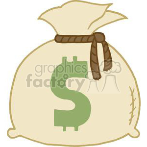 Money Bags clipart. Royalty-free image # 378376
