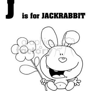 Jackrabbit  clipart. Royalty-free image # 378426