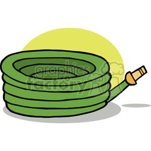 green garden hose clipart. Commercial use image # 379679