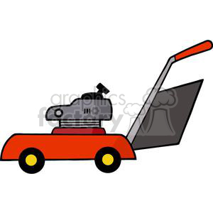 Royalty-Free lawn mower clipart. Royalty-free image # 379834