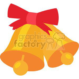 Christmas Bells clipart. Royalty-free image # 379844
