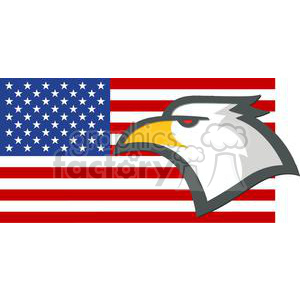 2380-Royalty-Free-American-Eagle-American-Head-With-USA-Flag