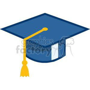 MortarBoard Graduation Cap clipart. Commercial use image # 380014