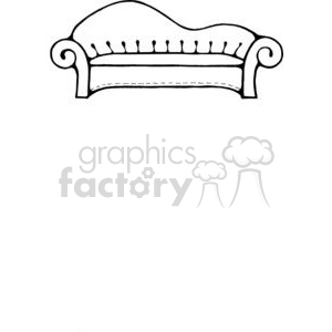 Sofa-Long2 clipart. Royalty-free image # 380171