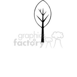 Tree-Single clipart. Commercial use image # 380181