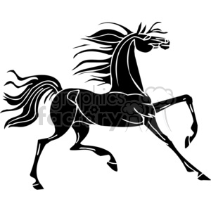 creative horse design animation. Royalty-free animation # 383669