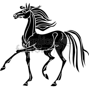 horse design clipart. Royalty-free image # 383674