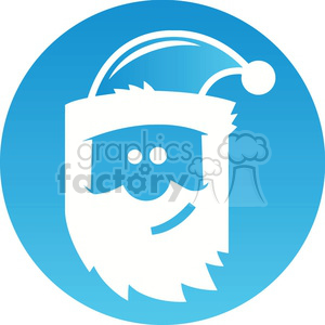 Christmas Santa icon clipart. Royalty-free image # 383696