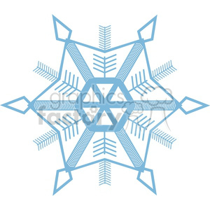 snowflake clipart. Royalty-free icon # 383721
