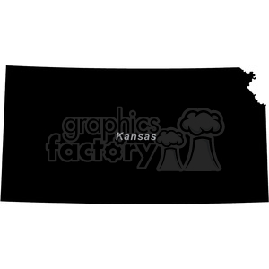 KS-Kansas clipart. Commercial use image # 383756