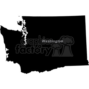 WA-Washington clipart. Commercial use image # 383761