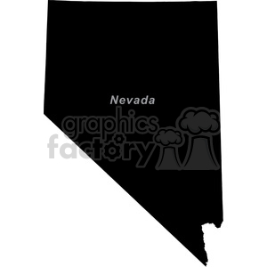 NV-Nevada clipart. Commercial use image # 383781