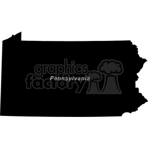 PA-Pennsylvania clipart. Royalty-free image # 383786